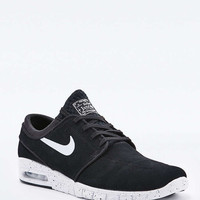 Nike SB Stefan Janoski Max Leather Black Trainers - Urban Outfitters