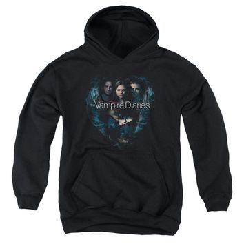 Vampire Diaries - Hearts Desire Youth Pull Over Hoodie