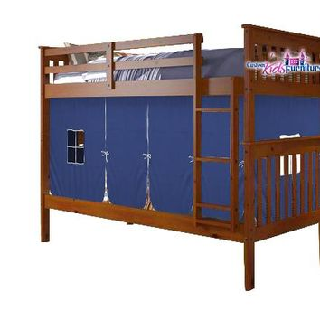 Elias Bunk Bed for Boys with Tent  sc 1 st  Wanelo : bunk beds with tent - memphite.com
