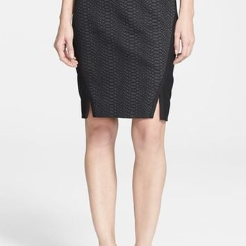 Women's Ted Baker London 'Costey' Textured Pencil Skirt