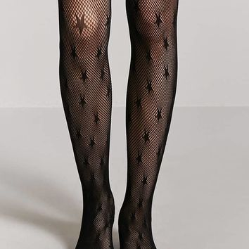 Star Fishnet Tights