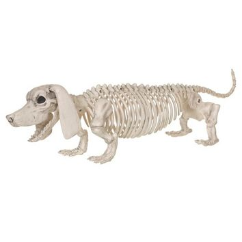 Halloween Dachshund Dog Skeleton