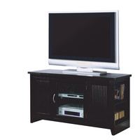 "Cappuccino Solid Wood and Veneer 48""L TV Console"