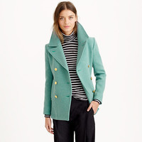 J.Crew Womens Petite Majesty Peacoat