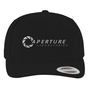 Aperture Science Labs Brushed Embroidered Cotton Twill Hat