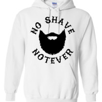 No Shave Notever Hoodie