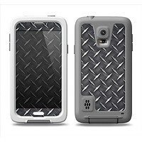 The Black Diamond-Plate Samsung Galaxy S5 LifeProof Fre Case Skin Set