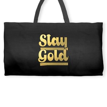 STAY GOLD Weekender Totes