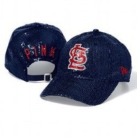 St. Louis Cardinals Bling Baseball Hat - PINK - Victoria's Secret