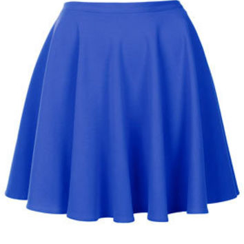 Blue Milano Skater Skirt - New In This Week  - New In