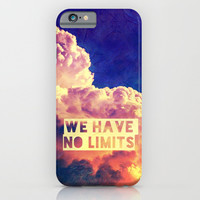 WE HAVE NO LIMITS II - for iphone iPhone & iPod Case by Simone Morana Cyla