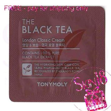 Freebies - Tony Moly The Black Tea London Classic Cream (Sample Pack)  *exp.date 04/19