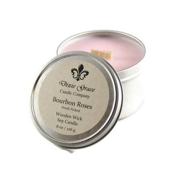 Bourbon Roses Candle