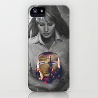 Pepper Potts - Iron Man iPhone & iPod Case by Georgie