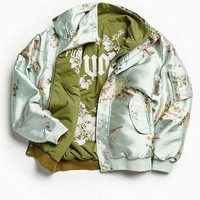 puma fenty by rihanna reversible bomber jacket urban outfitters  number 1