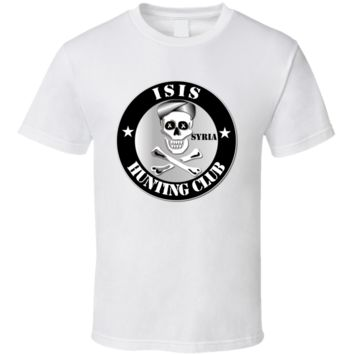 ISIS Hunting Club - Syria T Shirt