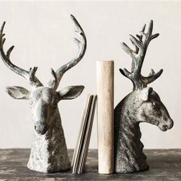 Bookends Stag