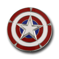 Captain America Shield Belt Buckle
