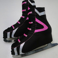 Hockey inspired Skate Boot Covers / Figure Skating / Ice Skating / Roller Skating