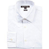 Michael Kors Royal Trim Woven Shirt - White