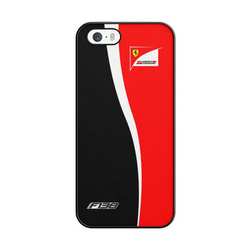 Fernando Alonso F1 Formula Scuderia Ferrari Team iPhone 5|5S Case