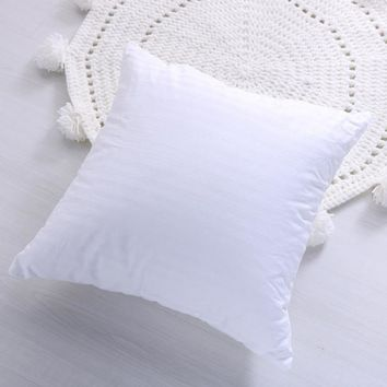Premium Hypoallergenic Stuffer Pillow Insert High-elasticity Cotton Full Fluffy Soft Pillow Insert for Home Bed Couch