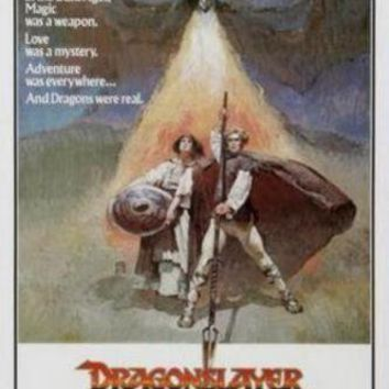 Dragonslayer poster 24in x36in