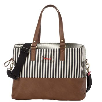 Babymel Millie Diaper Tote Bag - Navy Stripe