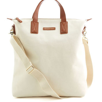 Shop Canvas And Leather NS Carryall at vineyard vines