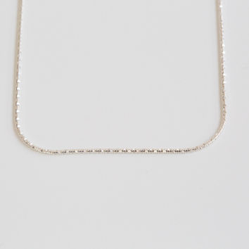 925 delicate chain necklace