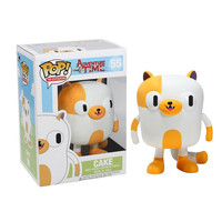 Funko POP! Television - Adventure Time Vinyl Figure - CAKE (4 inch): BBToyStore.com - Toys, Plush, Trading Cards, Action Figures & Games online retail store shop sale