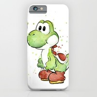 Yoshi iPhone & iPod Case by Olechka