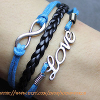 Ture love will go on bracelet by handworld