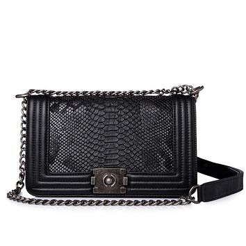 Diamond Lattice Women Crossbody Bag With High Quality Chain