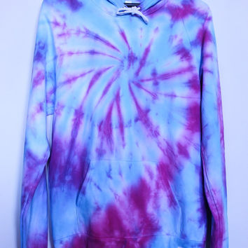 Blue And Pink Tie Dye