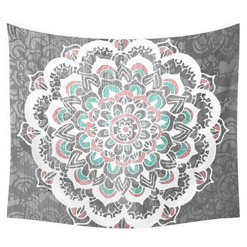 Tapestry Polyester Hippie Tapestry Beach Shawl