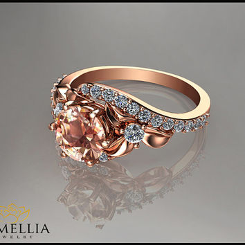 Best Morganite Jewelry Rose Gold 14k Products on Wanelo
