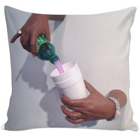 Dirty Sprite Couch Pillow