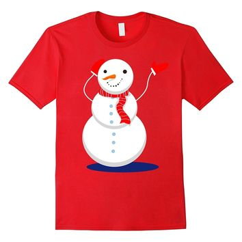 Funny Merry Christmas Dab Snowman Dance Gifts T-shirts