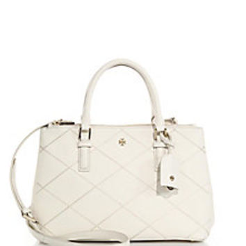 Tory Burch - Robinson Stitched Double-Zip Tote - Saks Fifth Avenue Mobile