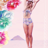 KAAWA high waisted bikini bottoms - Create your Own, as seen in DISFUNKSHION MAGAZINE