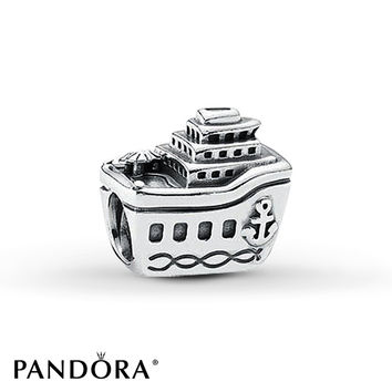PANDORA Charm Cruise Ship Sterling Silver