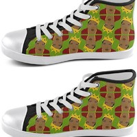 Biggie Smalls Pop Icon Sneakers - Available in High Tops, Low Tops or Slip Ons