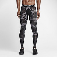The Nike Pro Cool Camo Men's Football Tights.