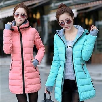 10 Colors Winter Women Fashion Ultra Light Down Jacket Duck Down Hooded Jackets Warm Slim Coat Female Solid Outwear Clothing
