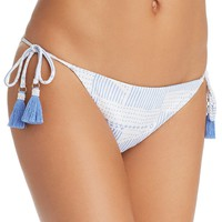 DOLCE VITA Ukara Reversible Side Tie Bikini Bottom Ukara Chambray $49