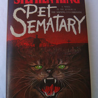 Pet Sematary Hard Cover by Stephen King (Copyright 1983)