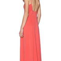Stateside Maxi Dress in Red