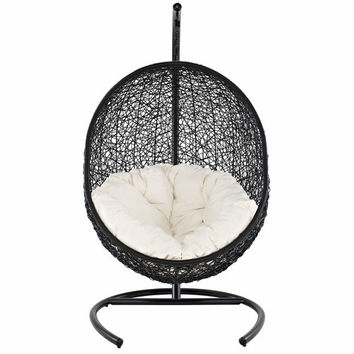 Encase Swing Outdoor Patio Lounge Chair