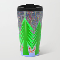 Christmas Dreamer | Christmas Spirit Metal Travel Mug by Azima